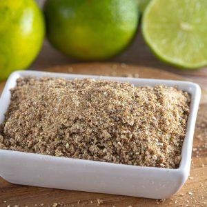 limão tahiti orgânico desidratado moído